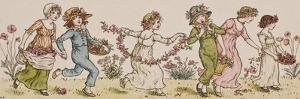 Flowers and Music by Kate Greenaway