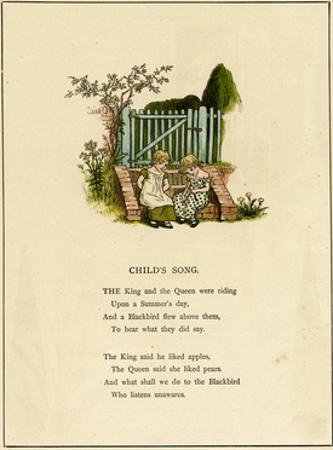Illustration, Child's Song