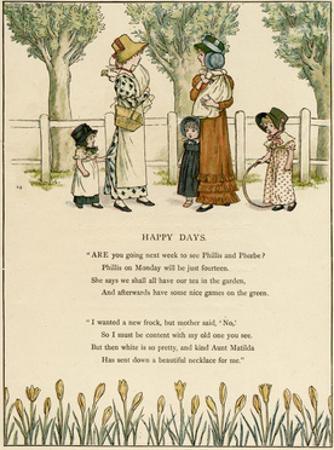 Illustration, Happy Days