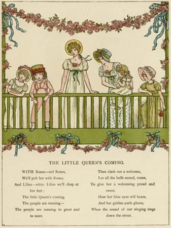 Illustration, the Little Queen's Coming