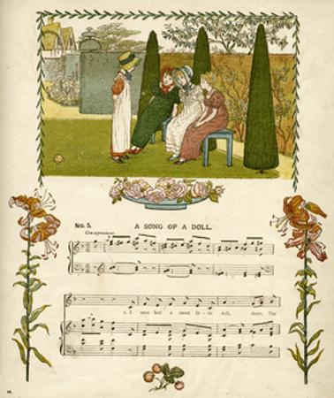 Illustration with Music, a Song of a Doll