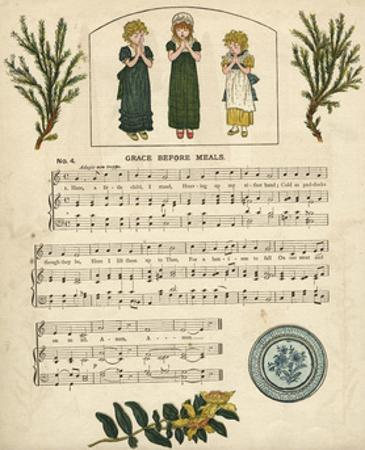 Illustration with Music, Grace before Meals