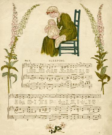 Illustration with Music, Sleeping