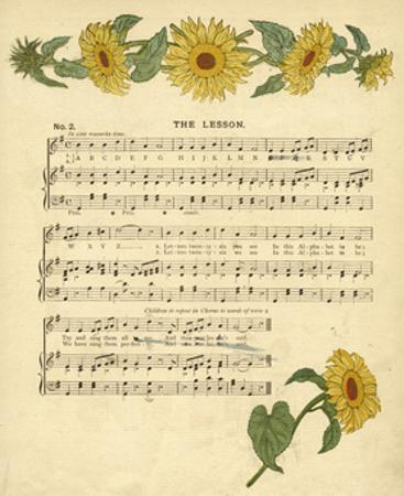 Illustration with Music, the Lesson