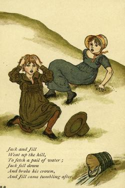 Jack and Jill illustrated by Kate Greenaway