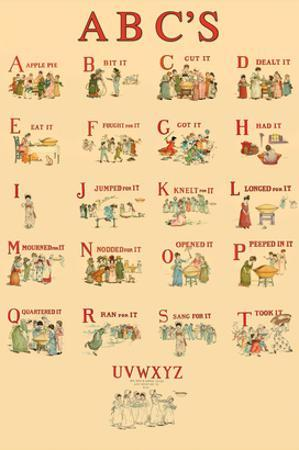 Kate Greenaway's ABC's by Kate Greenaway