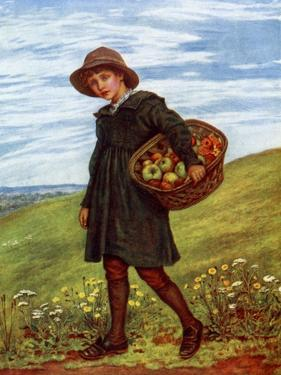 'Off to the Village' by Kate Greenaway by Kate Greenaway