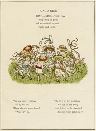 Ring-A-Ring -- Children Dancing