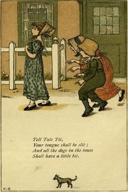 Tell Tale Tit nursery by Kate Greenaway