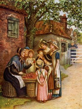 The cherry woman' by Kate Greenaway by Kate Greenaway