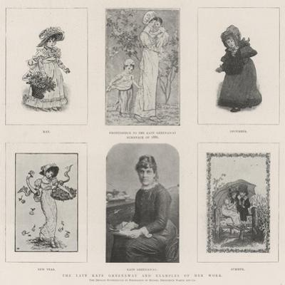 The Late Kate Greenaway and Examples of Her Work