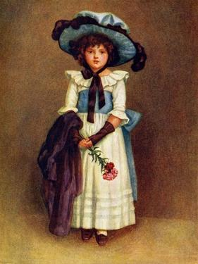 The little model' by Kate Greenaway by Kate Greenaway