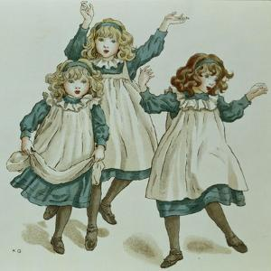 The Strains of Polly Flinders, from 'April Baby's Book of Tunes' 1900 by Kate Greenaway