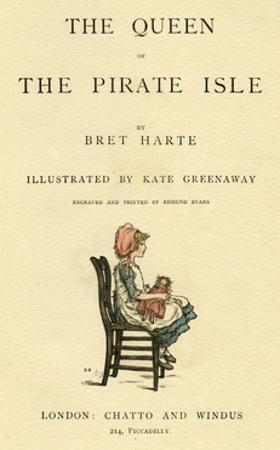 Title Page Design, the Queen of the Pirate Isle