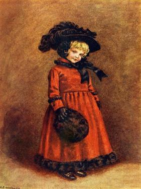'Winter' 1892 by Kate Greenaway by Kate Greenaway