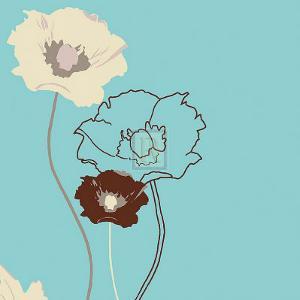Golden Poppy III by Kate Knight