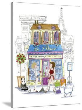 French Cafe by Kate Mawdsley