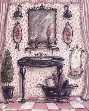 Fanciful Bathroom III by Kate McRostie