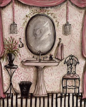 Fanciful Bathroom IV by Kate McRostie