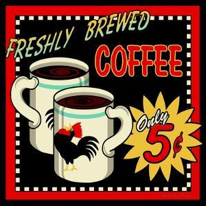 Freshly Brewed Coffee by Kate Ward Thacker