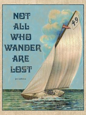 Not all who Wander by Kate Ward Thacker