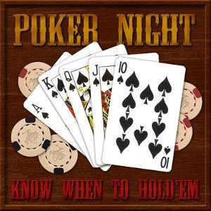 Poker Night by Kate Ward Thacker