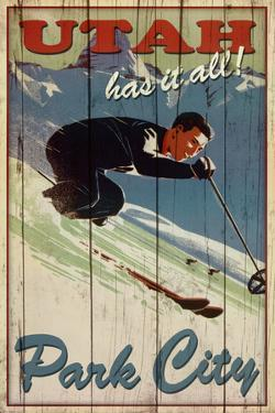 Kate Ward Thacker Ski Park City Utah Has It All Art Print Poster