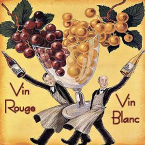 Vin Rouge Vin Blanc by Kate Ward Thacker