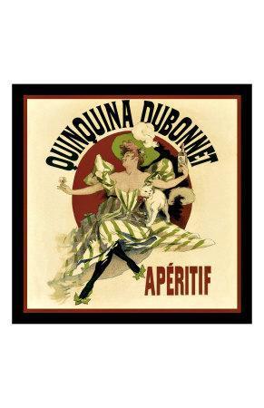 Vintage Dubonnet Liquor