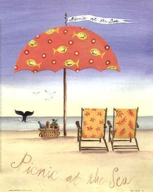 Picnic At The Sea by Katharine Gracey