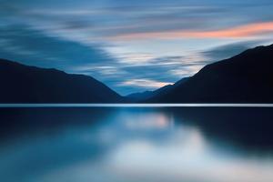 Lake Crescent Dusk by Katherine Gendreau