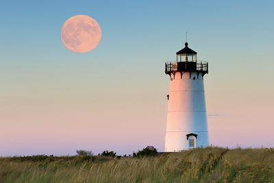 Moon over Marthas Vineyard