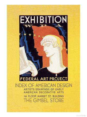 Wpa Federal Art Project: Index of American Design