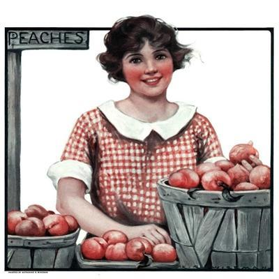 """Baskets of Peaches,""August 4, 1923"