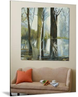 Contemporary Forest 1 by Kathleen Cloutier