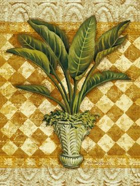 Elegant Palms II by Kathleen Denis