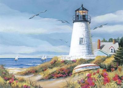 Lighthouse Harbor I by Kathleen Denis