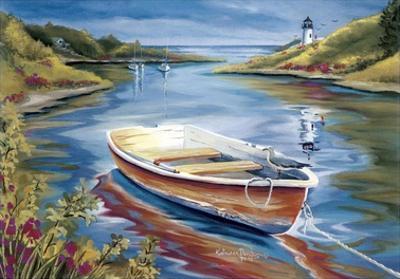 Lighthouse Harbor II by Kathleen Denis