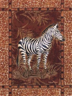 Lone Zebra by Kathleen Denis