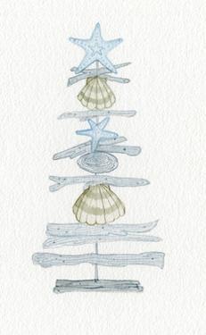 Coastal Holiday Tree I by Kathleen Parr McKenna