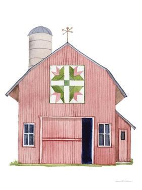 Life on the Farm Barn Element I by Kathleen Parr McKenna
