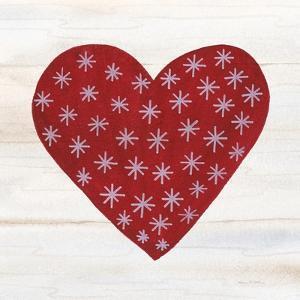 Rustic Valentine Heart II by Kathleen Parr McKenna