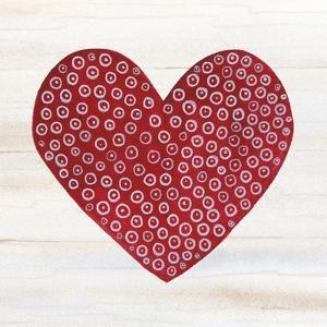 Rustic Valentine Heart III by Kathleen Parr McKenna