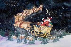 Santas Ride by Kathleen Parr McKenna