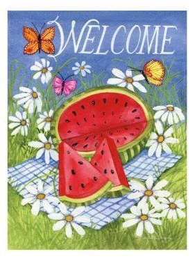 Summertime Welcome by Kathleen Parr McKenna