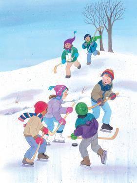 Hockey Time - Humpty Dumpty by Kathryn Mitter