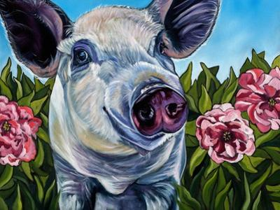 Pigs and Peonies by Kathryn Wronski