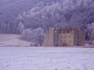 Castle Menzies in Winter, Weem, Perthshire, Scotland, UK, Europe by Kathy Collins