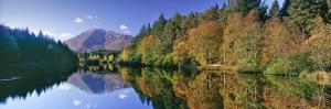 Early Autumn at Glencoe Lochan, Scotland by Kathy Collins