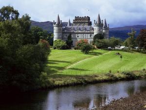 Inveraray Castle, Argyll, Highland Region, Scotland, United Kingdom by Kathy Collins